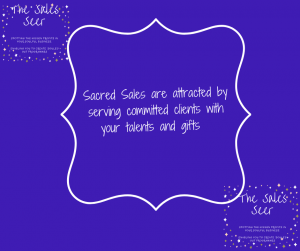 Selling from soul